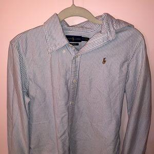 Seersucker Ralph Lauren Oxford Shirt